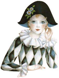 tubes carnaval - Page 3 Illustrations, Illustration Art, Mime, Clown Paintings, Pierrot Clown, Sergent Major, Female Clown, Au Ideas, Saint Yves