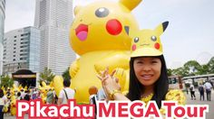 Méga Tour de Pikachu Land : Minato Mirai Yokohama [Pikachu Outbreak!] #YouTube #Video