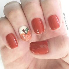 Fall pumpkin nail art design. Are you looking for autumn fall nail colors design for this autumn? See our collection full of cute autumn fall nail matte colors design ideas and get inspired!