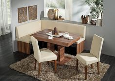 Delicieux Solid Wood Corner Bench Kitchen Booth Breakfast Nook Set Table   EBay   For  The Home   Pinterest   Kitchens, Nook And Bath