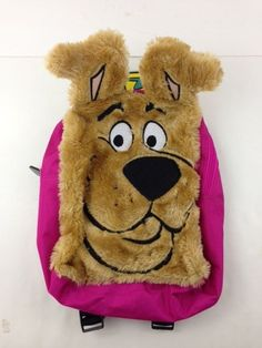 "Bioworld SCOOBY DOO Mini Backpack 11"" Shaped Figural Faux Fur FX Book Bag NWT  | eBay"