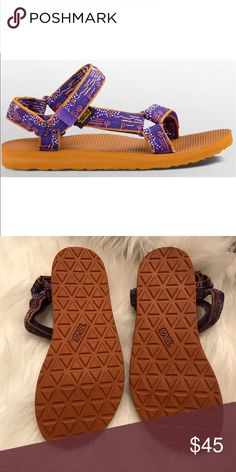 NWOB Cactus print universal original teva Gorgeous comfy sandals Teva Shoes Sandals