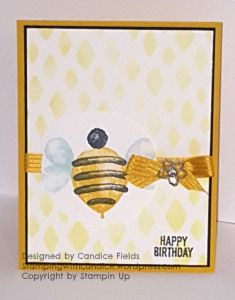 Balloon Builders card by Candice Fields, Independent Stampin Up Demonstrator