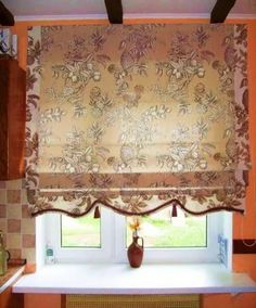 Tuscan style – Mediterranean Home Decor Drapes And Blinds, Roman Curtains, Window Curtains, Tuscan Curtains, Drapery, Tuscan Style Decorating, Balloon Shades, Door Coverings, Blue Shutters