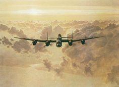 Lancaster Bomber Painting