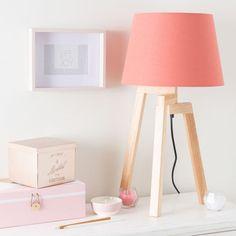 Boîte à bijoux en carton rose/blanche MALVINA