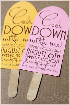 Invites or easy DIY decor   Note: 4x9.5 envelopes