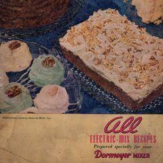 Cookbook Recipe Book All Electric Mix Recipes by SierrasTreasure