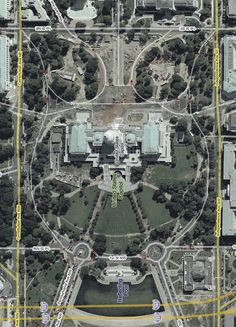 Washington DC is laid out in the shape of an owl...