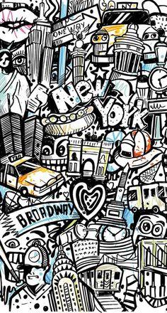 Graffiti iPhone Wallpaper Art