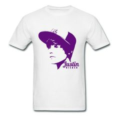 Justin Bieber Men's T-shirt on Sale-Music  T-shirts SAVE up to 80% off,Create custom T-shirts at a fantastic price, no minimum quantity. 100% Satisfaction Guaranteed http://hicustom.net