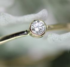 Sparkle Lovely Diamond Ring by louisagallery on Etsy, $185.00    see the last picture :)