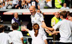 Zinedine Zidane at Corazón Classic Match 2015