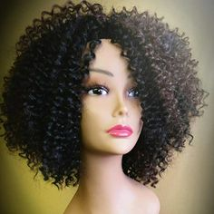 Crochet braid wig. Made with Freetress water wave. Available at Studio ...