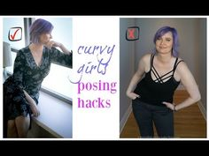 Hi blushers, if you are curvy woman, plus size or have big bust line, this video will teach you how to pose like a model and look comfortable and confident. All my photography posing hacks… s… Plus Size Posing, Plus Size Tips, Plus Size Looks, Plus Size Fashion Tips, Plus Size Model, Fashion Tips For Women, Plus Size Maxi Dresses, Plus Size Outfits, Plus Size Photography