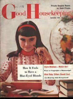 Good Housekeeping September 1956