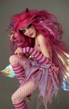 circus costume festival clubwear inspiration ala alice in wonderland Cheshire Cat Faerie No. by wingdthing - I would like a costume like this for Halloween.that wud be cute for my girl future halloween party. Halloween 2018, Costume Halloween, Cat Costumes, Halloween Cat, Halloween Makeup, Costume Ideas, Circus Costume, Women Halloween, Costume Contest