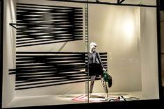 Holt Renfrew windows, Toronto visual merchandising