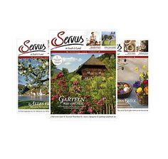 Jahresabo des Magazins Servus in Stadt Baseball Cards
