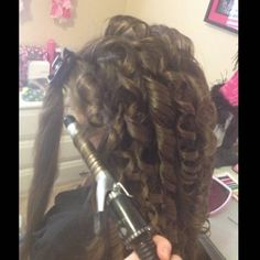 When you curl your hair, use hairspray on section before wrapping hair around the barrel. Also, your curl will last longer and keep its shape if you twine it around the iron/curler.