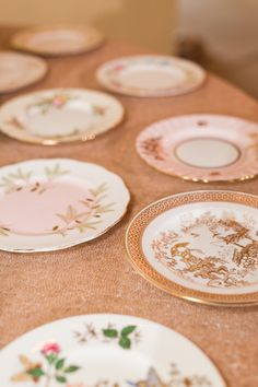 Alabama wedding rentals from Tea and Old Roses include more than pieces of all-English china, glasses, and silver plate and gold flatware. Vintage Cake Plates, Vintage Tableware, Vintage Dishes, Vintage China, Gold Flatware, English China, Wedding Rentals, Tea Sets, China Porcelain