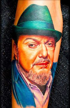 Realism Portraits Tattoo by Shane O Neill
