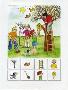 "Find the picture - Encuentra la imágen Oefenen ""waar? Therapy Activities, Learning Activities, Educational Activities, Activities For Kids, Preschool Worksheets, Preschool Crafts, Teaching Kids, Kids Learning, Hidden Picture Puzzles"