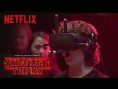 Stranger Things | Cast Reacts: Virtual Reality [HD] | Netflix - YouTube