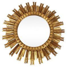Check out this item at One Kings Lane! Large Spanish Sunburst Mirror