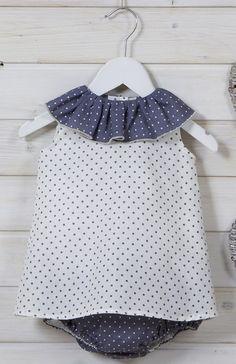 Bari puntos azul www.deladosaladoce.es #bebé #bambino #babyfashion #baby #neonato #primerapuesta