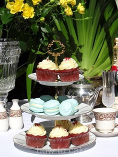 cupcakes anyone? $69  http://www.ebay.com.au/itm/Vintage-3-Tier-Cupcake-High-Tea-Stand-Noritake-Humoresque-Pattern-6685-1970s-/230835844298?pt=AU_Party_Supplies=item35bee374ca