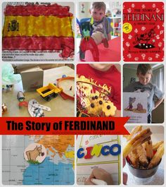Activities for Book, The Story of Ferdinand (from School Time Snippets)