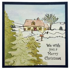 Country Scenes card by Jenny Mayes