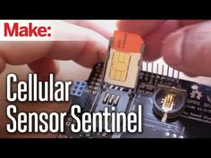 How to make a Cellular Sensor Sentinel, an Arduino-based remote alarm system that can notify your cell phone when doors or windows are opened or closed, pressure sensors depressed, or motion sensors activated, just to name a few of the many possibilities.