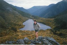 #greatwalker DoC Al on Wangapeka Track at Little Wanganui saddle.