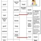 Here's a fun board game to practice reading words with the endings -ed, -ing. Students will need a die and game chips. Speech And Language, Language Arts, English Language, Oo Sound, Spring Words, Reading Words, Word Board, E Words, Word Sorts