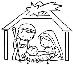 Diy Nativity, Christmas Nativity Scene, Preschool Christmas, Christmas Activities, Christmas Projects, Kids Christmas, Christmas Carnival, Nativity Coloring Pages, Coloring Books