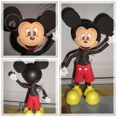 MICKEY MOUSE 3D MOLDES