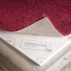 Carpet makes a finished basement warm and inviting, but unless you use the right kind of carpet pad odor caused by moisture rising through the concrete can become a problem.