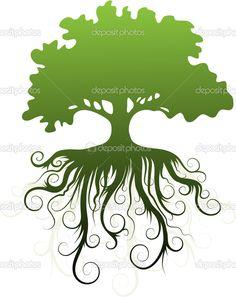 дерево - Стоковая иллюстрация: 2369534