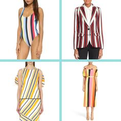 Stacey discusses the multi-colored stripes trend for spring and shares some of her favorite multi-colored stripes clothing and accessories.