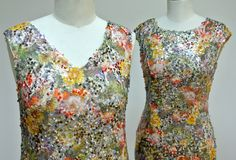 Two different necklines