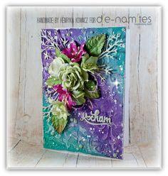 Magic Craft Land by Henryka Magic Crafts, Mixed Media, Cards, Handmade, Inspiration, Biblical Inspiration, Mixed Media Art, Craft, Maps