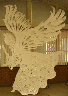 Paper-cut Angel not mine just beautiful Clesta