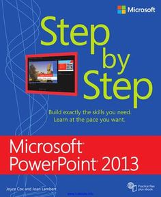 Microsoft Powerpoint 2013 step by step - read full book online