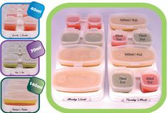 Baby Cubes - 40ml/70ml/140ml