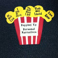 Personal narrative seeds