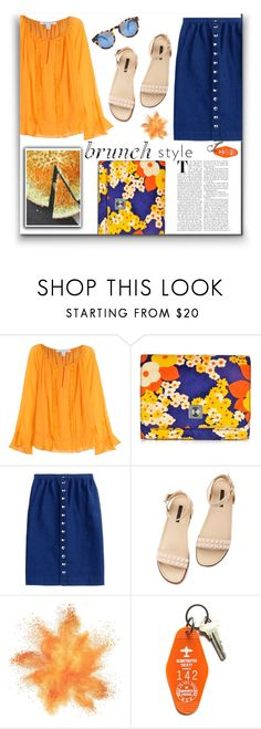 """""""Bright colors increase the appetite"""" by dorinela-hamamci ❤ liked on Polyvore featuring Diane Von Furstenberg, Carven, A.P.C., Rachel Zoe, Three Potato Four, brunch, polyvoreeditorial and polyvorecontest"""