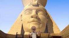 Las piramides de Egipto - corto de animacion