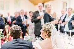 brudeparret havde smukt udsyn til alle gæsterne